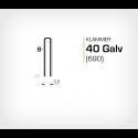 Klammer 40/8 Galv (690-08) - 20000 st / ask