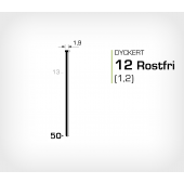 Dyckert rostfri 12/50 SS (SKN 12-50 SS)