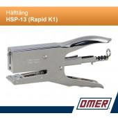 Häfttång HSP-13 (Rapid K1) för 26 klammer
