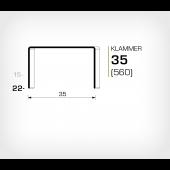Klammer 35/22 (560-22K) - OMER